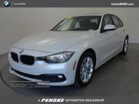 REDUCED FROM $43,750!, EPA 35 MPG Hwy/23 MPG City! 320i