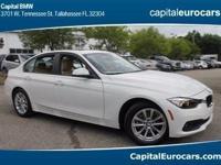 2017 BMW 3 Series 320i 35/23 Highway/City MPG  Awards: