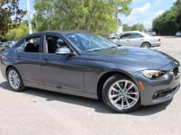 2017 BMW 3 Series 320i 35/23 Highway/City MPG  Awards: