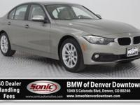 Delivers 34 Highway MPG and 23 City MPG! This BMW 3