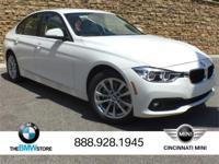 New Price!2017 BMW 3 Series 320i xDrive Alpine White