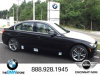 2017 BMW 3 Series 328d xDrive Jet Black 2.0L 4-Cylinder