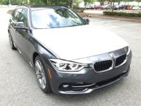 Mineral Gray Metallic 2017 BMW 3 Series 328d xDrive AWD