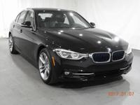 2017 BMW 3 Series 330e iPerformance  in Black. 2.0L