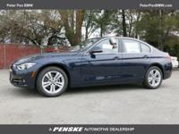 Turbo! Switch to Peter Pan BMW! This great 2017 BMW 3