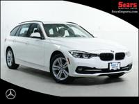 Loaded One Owner 330i xDrive Sport Line Wagen! Full BMW