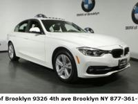 CARFAX One-Owner. Clean CARFAX. Alpine White 2017 BMW 3