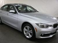 New Price! 2017 BMW 3 Series Glacier Silver Metallic