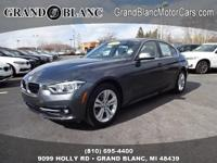 2017 330XI XDRIVE with LOW MILES **Rear Back-Up