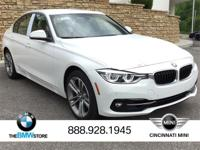 2017 BMW 3 Series 330i xDrive Alpine White 2.0L
