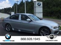 2017 BMW 3 Series 330i xDrive Glacier Silver Metallic