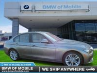 We are excited to offer this 2017 BMW 3 Series. Stylish