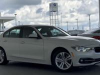 Beautiful 2017 BMW 330i Executive Demo... This vehicle