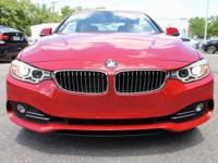 2017 BMW 4 Series 430i 34/23 Highway/City MPG  Options: