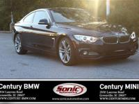 BMW Certified Pre-Owned! This 2017 BMW 430i Coupe is