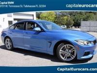 2017 BMW 4 Series 430i  Options:  Sport Seats|Sensatec
