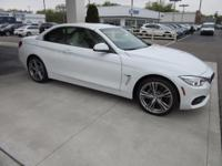 2017 BMW 4 Series 430i xDrive 32/22 Highway/City MPG