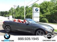 2017 BMW 4 Series 430i xDrive Convertible Mineral Gray