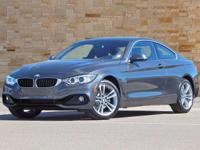 This 2017 BMW 4 Series comes with Advanced Real-Time