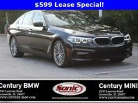 BMW Certified Pre-Owned! This 2017 BMW 530i sedan is