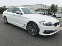 Recent Arrival! 2017 BMW 5 Series 530i CARFAX