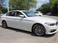 2017 BMW 5 Series 530i 34/24 Highway/City MPG  Options:
