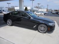 2017 BMW 5 Series 530i 33/23 Highway/City MPG  Options: