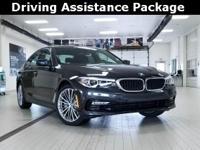 2017 BMW 5 Series 2.0L 4-Cylinder 530i Dark Graphite