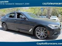 2017 BMW 5 Series 540i 30/20 Highway/City MPG  Options: