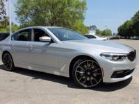 2017 BMW 5 Series 540i 30/20 Highway/City MPG  Options: