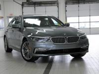 2017 BMW 5 Series 3.0L I6 Turbocharged DOHC 24V ULEV