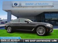 We are excited to offer this 2017 BMW 5 Series. Today's