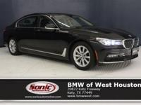 This Certified Pre-Owned 2017 BMW 740i is a One Owner