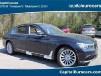 2017 BMW 7 Series 740i 29/21 Highway/City MPG  Options: