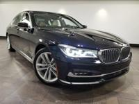 This 2017 BMW 7 Series 750i is featured in Imperial