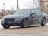 This 2017 BMW 7 Series comes with AWD, mocha Leather,