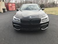 2017 BMW 750i xDrive with Remote Control Parking and M