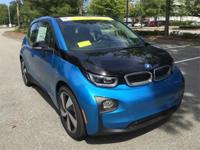 Protonic Blue Metallic w/Frozen Gray Accent 2017 BMW i3