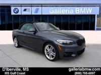 Beautiful 2017 BMW 230i Convertible.... This vehicle is