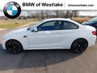 New 2017 BMW M2 Coupe in Alpine White with M
