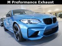 2017 BMW M2 3.0L I6 Long Beach Blue Metallic Apple