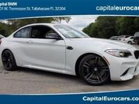 2017 BMW M2 26/18 Highway/City MPG  Options:  Front