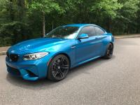 2017 BMW M2 in Long Beach Blue And six speed manual