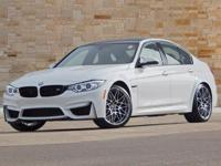 This 2017 BMW M3 comes with BMW Individual High-Gloss