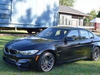 2017 BMW M3 M-POWER,425 HP,LED HEADLIGHTS,HEAD-UP