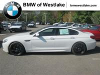 2017 BMW M6 Gran Coupe with Competition Package,