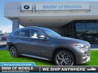 We are excited to offer this 2017 BMW X1. Treat