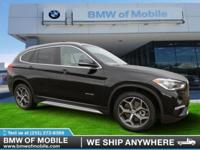 We are excited to offer this 2017 BMW X1. Want more