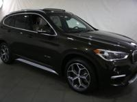 New Price! 2017 BMW X1 Dark Olive Metallic AWD  CARFAX