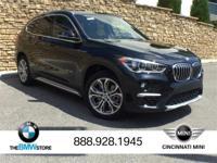 Service Loaner: 2017 BMW X1 xDrive28i Black Sapphire